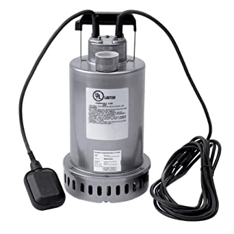 Honda WSP53 Submersible Pump, Top Discharge, 1/2 hp 115V
