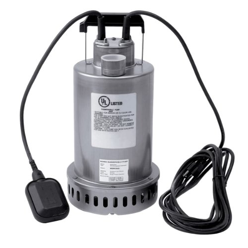 Honda WSP53 Submersible Pump, Top Discharge, 1/2 hp 115V