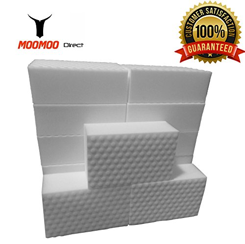 MOOMOO Magic Cleaning Eraser Sponge Melamine Foam - POWER CLEAN Edition 20 Pack (20)