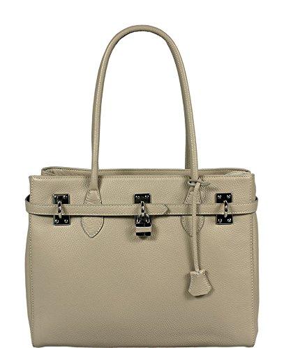Neue Hand Tasche , Sac pour femme à porter à l'épaule beige beige 1