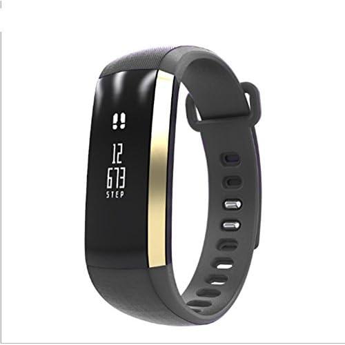 Sports Smart Band Hesvit S3 Smart Bracelet Smart Wristband Sports Fitness Tracker Smart Band Heart Rate Monitor , silver grey