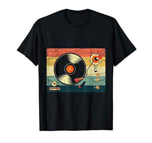 Vintage Vinyl Record Player T-shirt
