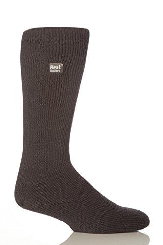 Heat Holders calcetines térmicos, originales para hombre, talla de zapatos de Estados Unidos 7 – 12, Carbón, US 7-12