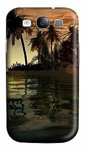 meilz aiai3D Islands And Tree Custom Polycarbonate Hard Case Cover for Samsung Galaxy S3 SIII I9300meilz aiai