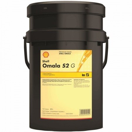 Shell Omala S2 G 220 Industrial Gear Oil - 5 Gallon Pail