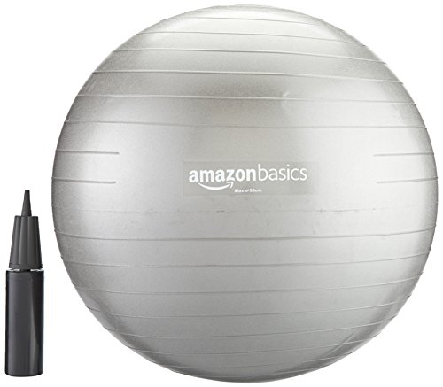 amazonbasics-balance-ball-with-hand-pump-55-cm
