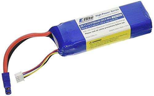 E-flite 2100mAh 3S 11.1V 20C LiPo 13AWG EC3 Battery