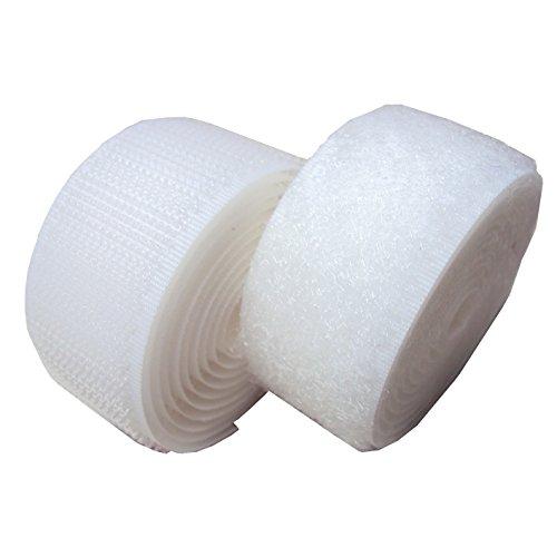 1 white sew on velcro - 6