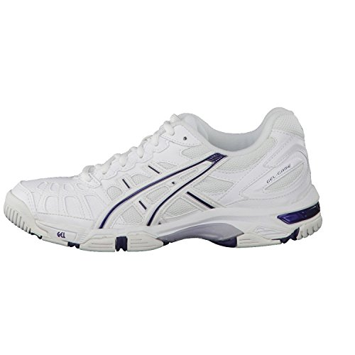 Asics Women Gel-Game 3 / E154Y-0157 Farbe: White/Peacock Blue/Ligh