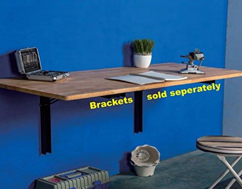 Kyings Metal Folding Shelf Bracket,Industrial Decorative Wall Mounted Support Bracket -  - wall-shelves, living-room-furniture, living-room - 41x jd32BZL -