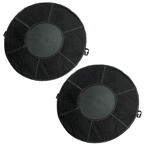Spares2go AMC037 Carbon Vent Filter For Aeg / Electrolux Cooker Hood / Range Extractor 2 Filters