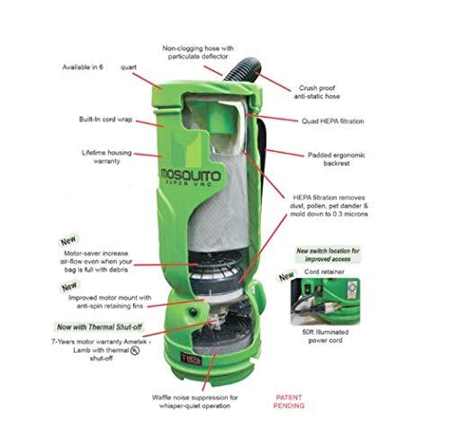 Vacuum for Floor Machines