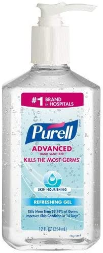 Amazon Com Purell Advanced Instant Hand Sanitizer With Derma