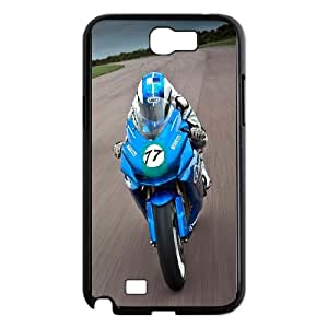Samsung Galaxy N2 7100 Cell Phone Case Black Speed Moto Race VIU927128