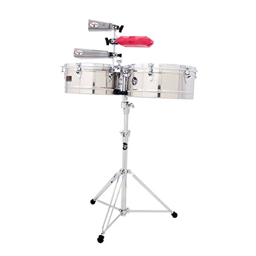 LP Prestige Series Stainless Steel Timbales (14 inch/15 inch) by Latin Percussion