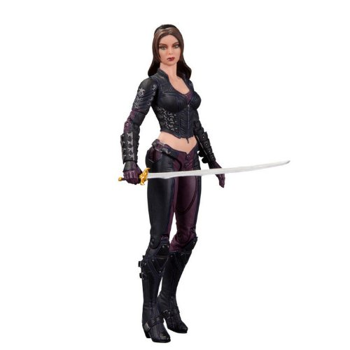 DC Collectibles Batman Arkham City: Series 4: Talia Action Figure (Catwoman Arkham City)