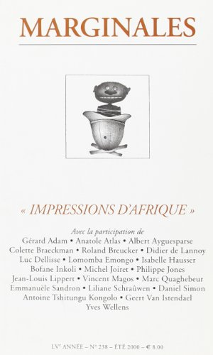 Marginales 238 Impressions d'Afrique (French Edition)