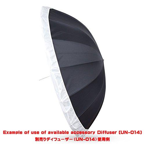 UNPLUGGED STUDIO 70inch White Umbrella (16 Fiberglass Ribs) by UNPLUGGED STUDIO (Image #8)