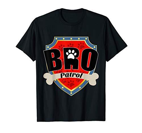 Funny BRO Patrol T-Shirt - Dog BRO T-Shirt ()