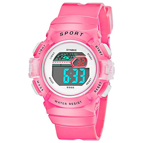 Multifunction Alarm Weekday Stopwatch Kids Sports Digital Luminous Wrist Watch by Gaweb (Image #7)