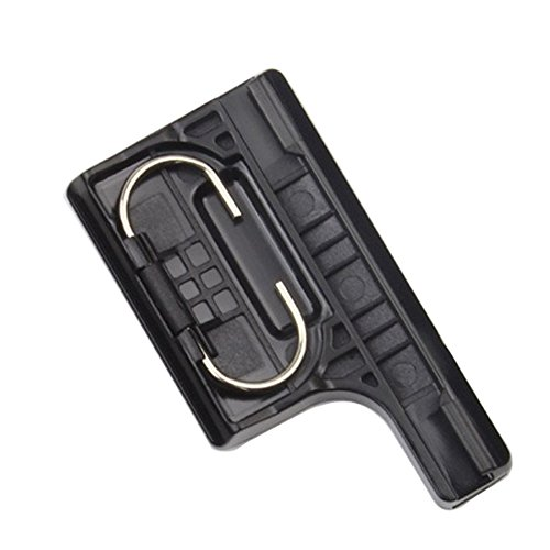 Smooth Surface Plastic Latch Rear Snap Waterproof Housing