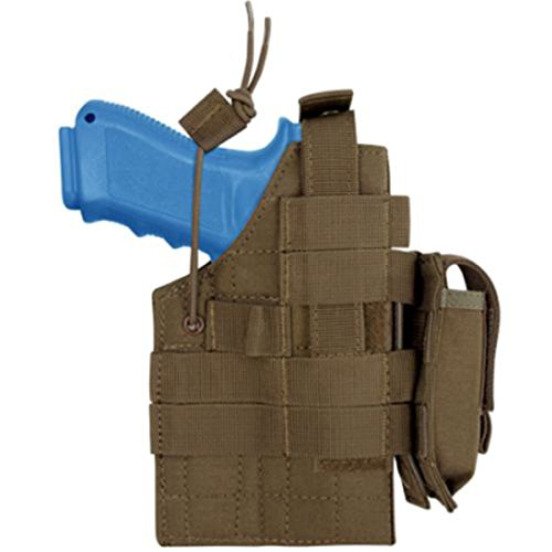 Pistol Molle Holster - Condor Glock Ambidextrous Holster - Brown