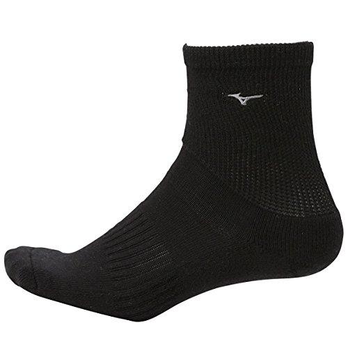 ミズノ MIZUNO 靴下 フィットウェルソフト レギュラーソックス 52JX7009 ブラック フリー