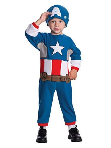 Rubie's Baby's Marvel Classics Avengers Assemble Captain America Costume, Multi, Toddler -