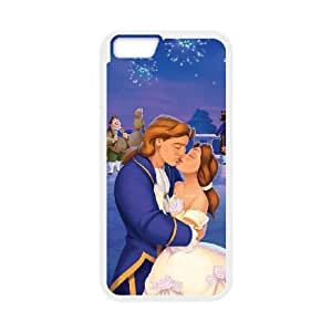 Durable Rubber Cases iPhone 6 4.7 Inch Cell Phone Case White Ckmbu Beauty and the Beast Protection Cover