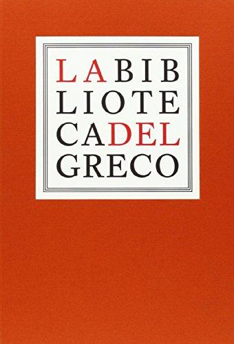 Descargar Libro La Biblioteca Del Greco Vv.aa.