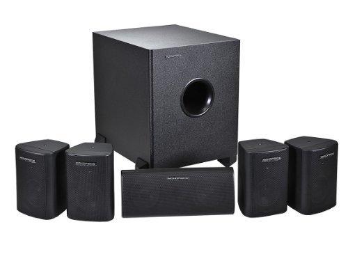 Monoprice 108247 5.1-Channel Home Theater Speaker System Six [並行輸入品] B077JPGC3L