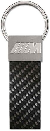 BMW M llavero Carbon