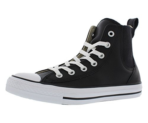Converse Womens Chuck Taylor All Star Chelsee Black/Cloud Cream/White Sneaker - 6