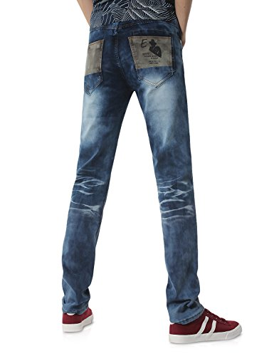 Dh8117 X Jeans Azul 817 Demon amp;Hunter Recto Hombre Straight Pantalones Vaqueros Series 6z1TH6vq