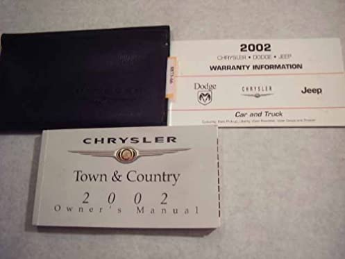 2002 chrysler town and country owners manual chrysler amazon com rh amazon com 2002 chrysler town and country owners manual free download 2002 chrysler town and country owners manual download