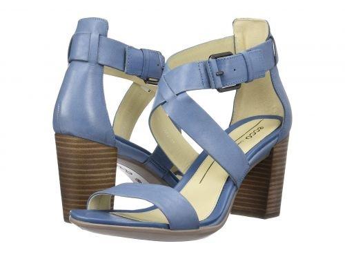 ECCO(エコー) レディース 女性用 シューズ 靴 ヒール アンクル Shape 65 Block Sandal - Retro Blue [並行輸入品]