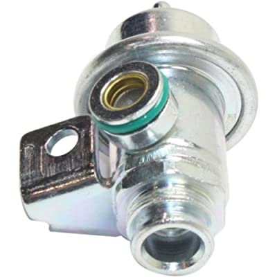 Make Auto Parts Manufacturing - GRAND PRIX 91-95 / SONOMA 94-00 FUEL PRESSURE REGULATOR, Straight Nipple Orientation - REPP318101