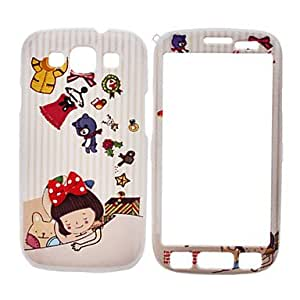 GJY Sleeping Girl Pattern Front and Back Full Body Case for Samsung Galaxy S3 I9300