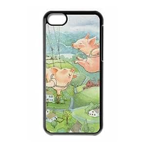 Clzpg Custom Iphone 5C Case - Pig phone case