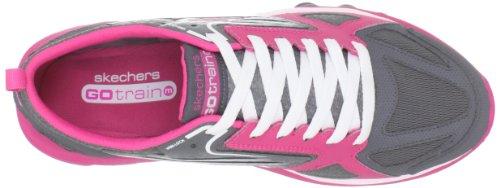 Skechers GO Train 13507 BBK - Zapatillas de fitness para mujer Gris (Grau (Gris (Cchp)))