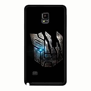 Unique Artistic Transformers Phone Case Cover For Samsung Galaxy Note 4 Transformers Design