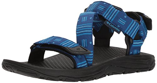 Columbia Men's Big Water Sport Sandal, Royal, Aqua Blue, 11 Regular US