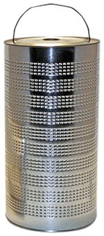 WIX Filters - 51751 Heavy Duty Cartridge Fuel Metal Canister, Pack of 1 by Wix