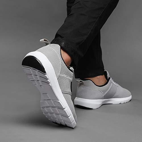 Ezywear Sports Gris De Entraneur Running Homme Sport Sneakers Chaussures T78TwrnZq