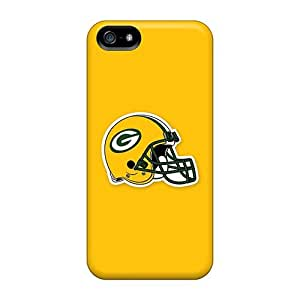 Hot Design Premium GBF7554LlEw Cases Covers Iphone 5/5s Protection Cases(green Bay Packers 5)