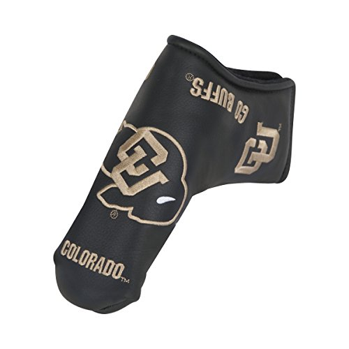 Team Effort Colorado Buffaloes Black Blade Putter Cover