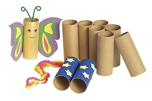 Colorations Sturdy Recycled Craft Rolls - 24 Pieces