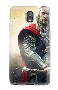 Christmas Gifts New Style Tpu Note 3 Protective Case Cover/ Galaxy Case - Thor The Dark World Movie