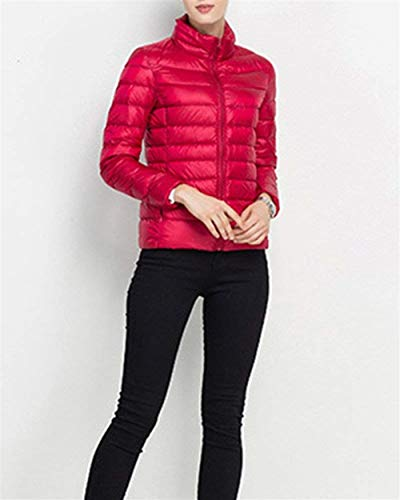Winter Size Jacket Color Autumn Fit Coat Pretty Martinad S Women Quilted Slim Down Solid Sleeve Closure Zipper Nice Rot Long Casual With color 41wtEAvxEq