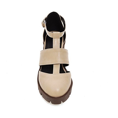 BalaMasa BalaMasa Abricot Sandales Sandales Compensées Femme fw4vw5